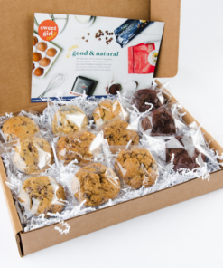 One dozen individually wrapped cookie gifts